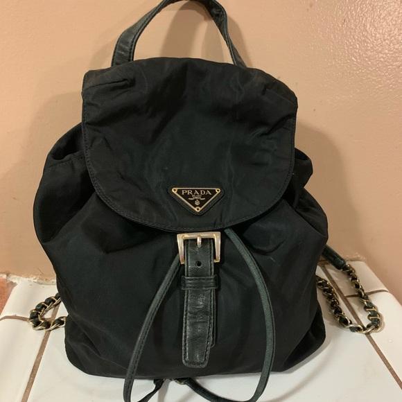 Prada Handbags - Prada Nylon Backpack